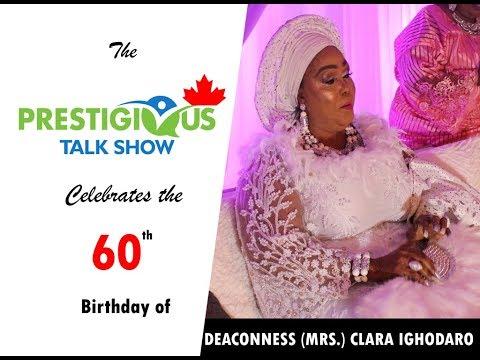 DEACONESS (MRS) CLARA IGHODARO UYIEKPEN'S 60TH BITRHDAY ANNIVERSARY