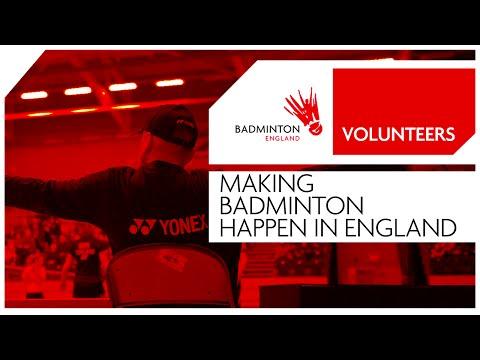 Volunteers - Making badminton happen in England