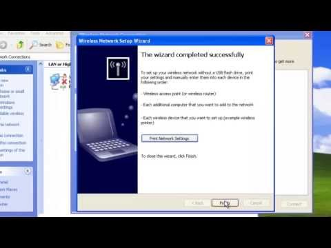 How To Setup Wifi In Windows XP