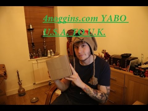 Box opening (YABO) 4noggins | Shipping tobacco USA to UK
