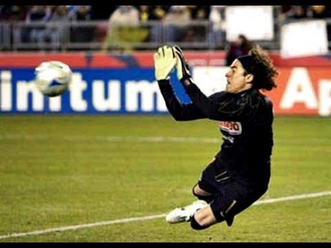 Guillermo Ochoa Great Game ● Club America Monarcas Morelia 2008 - Robertson Stadium (Houston, Texas)