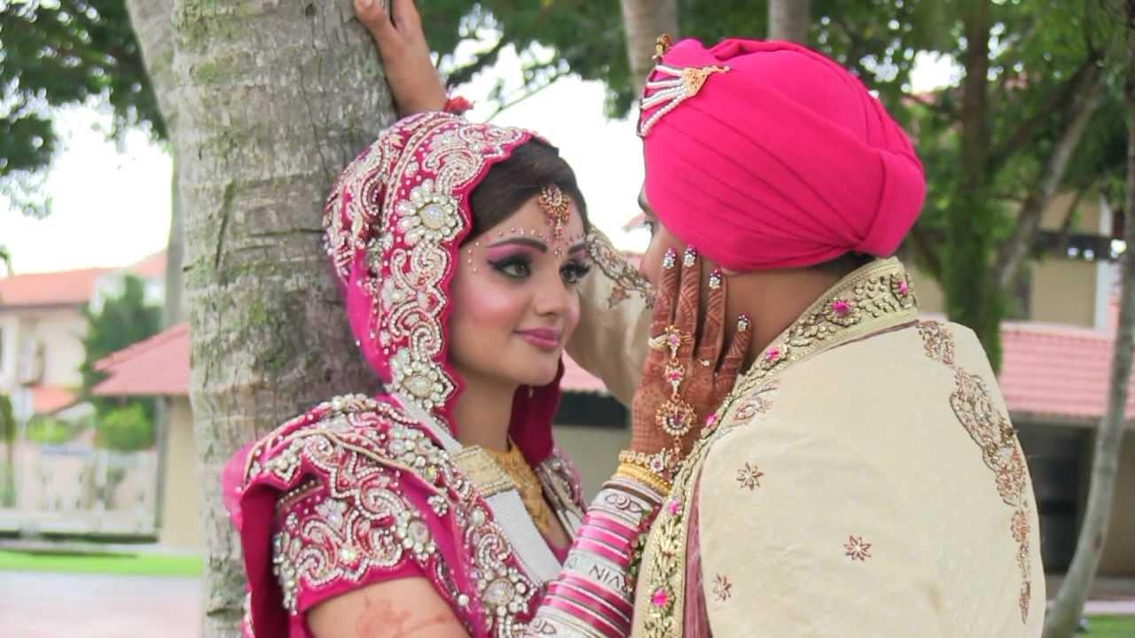 Punjabi Girl Wallpaper Photos Hd Sikh Wedding Highlights Arvin Amp Sheema Youtube