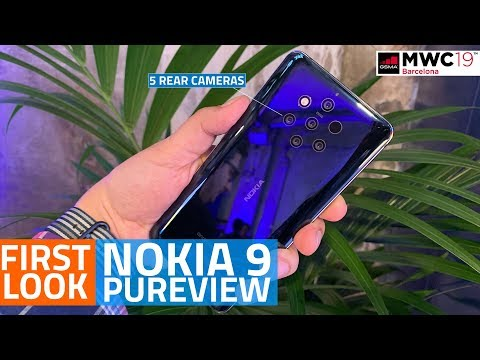 Nokia 9 PureView First Look | 5 Rear Cameras, In-Display Fingerprint Scanner, and More