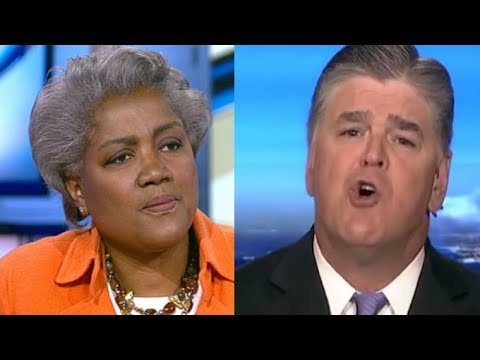 Hannity Grills Donna Brazile on Trump-Russia Dossier