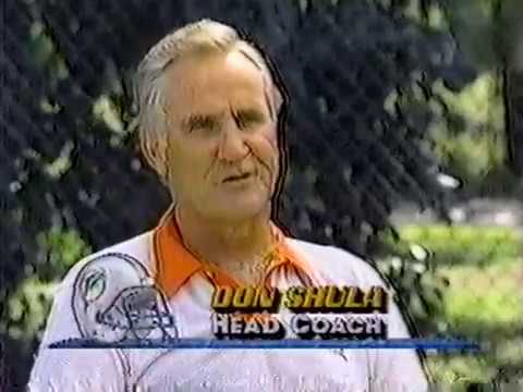 1990 Wk 10 Don Shula Interviewed By Nick Buoniconti
