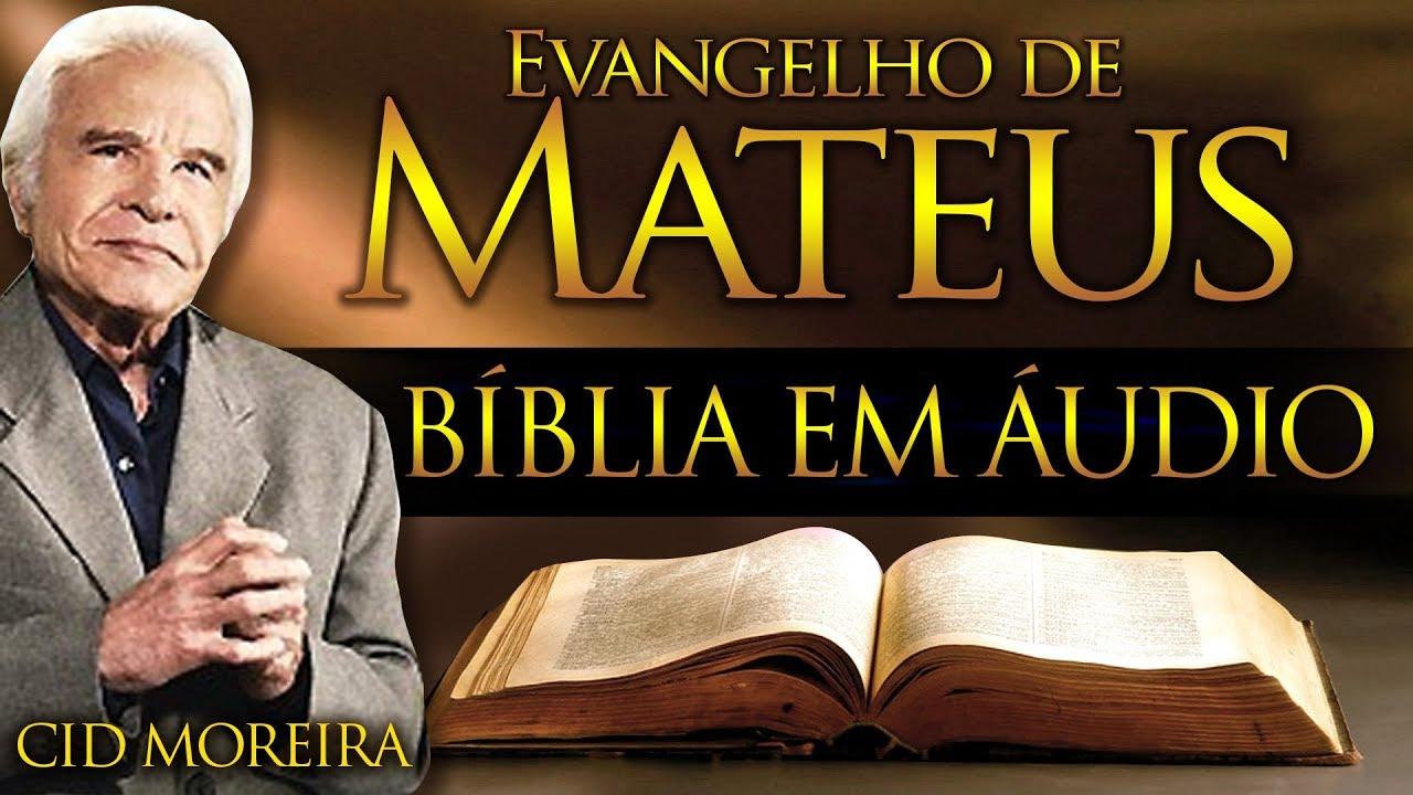 Download A Bíblia Narrada por Cid Moreira: MATEUS (Completo)