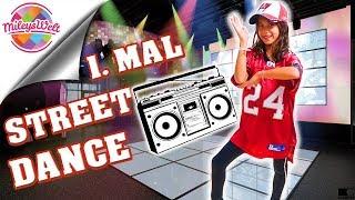 STREET DANCE 🎼Probestunde in einer TANZSCHULE - Mileys Welt