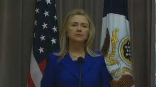 Hillary Clinton, Secretary of State comments on US Travel and Tourism - Unravel Travel TV