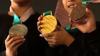 Pyeongchang 2018: Das sind die neuen Olympia-Medaillen