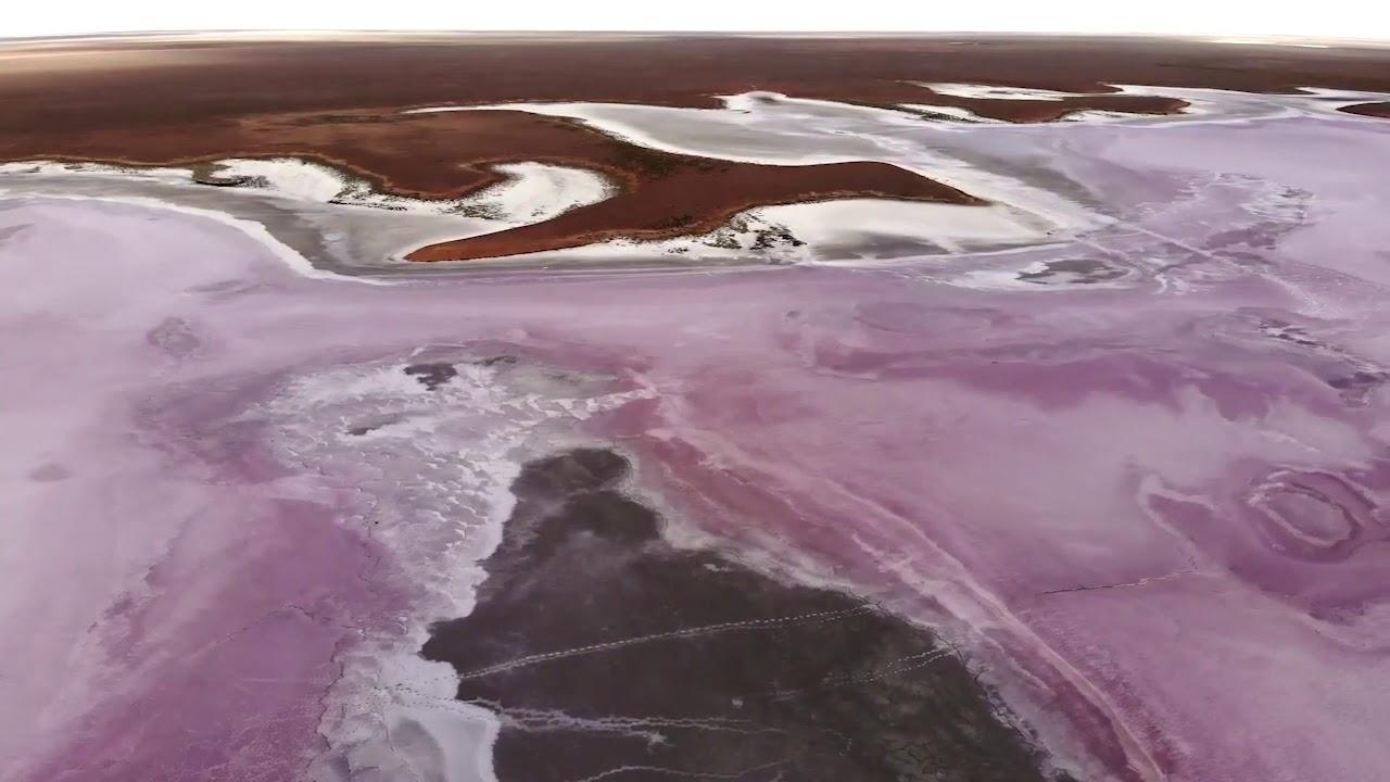 Меклетинское розовое озеро Республика Калмыкия