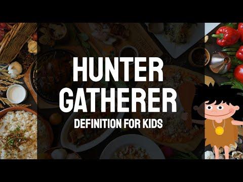 Hunter Gatherer Definition for Kids