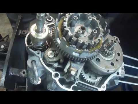 Motor Yamaha Crypton 105cc Montagem passo a passo Cássio Mecânico
