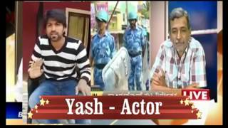 Yash Open Challenge on Cauvery Issue for Public TV and Other News Channel