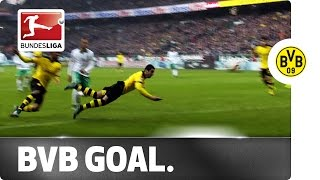 Hummels to Mkhitaryan - Perfect Assist for Perfect Diving Header