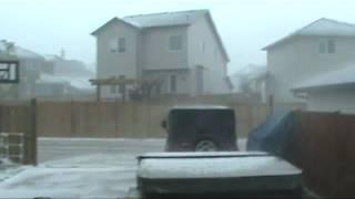 Airdrie Alberta Hail Storm