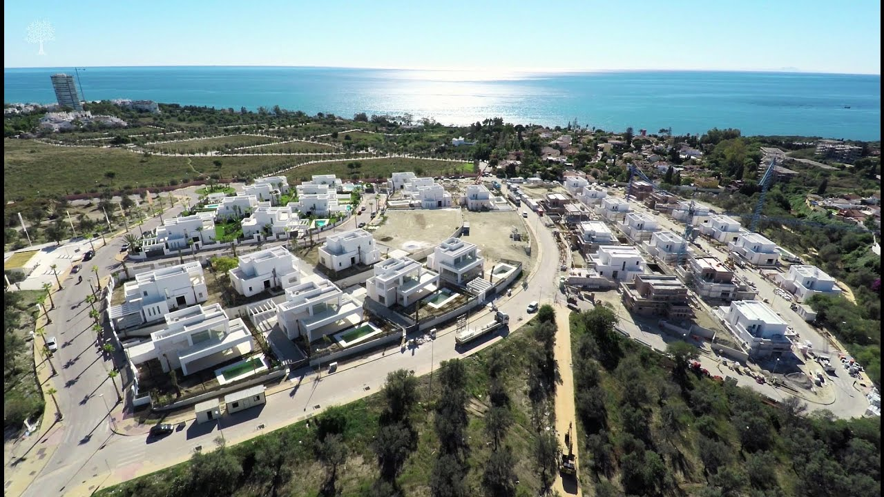 La finca de marbella aerial footage update 08 november for Administrador de fincas marbella