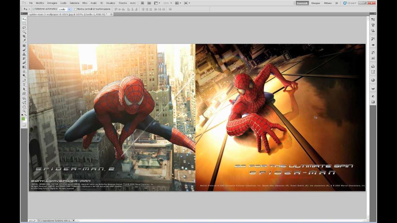 Photoshop Creare Una Transizione Omogenea Tra Due Immagini