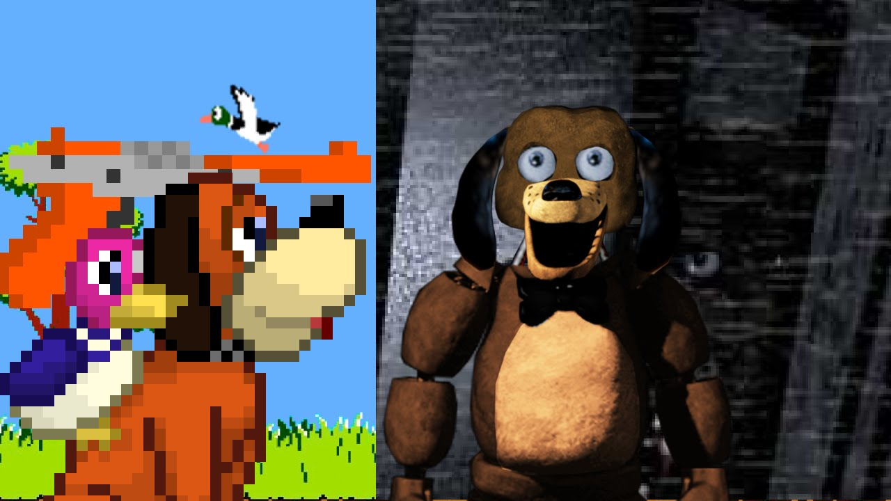 Duck hunt vs sparky the dog epic fnaf rap battles 4 youtube