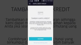 cara isi rekening uber driver dan komplain pembayaran