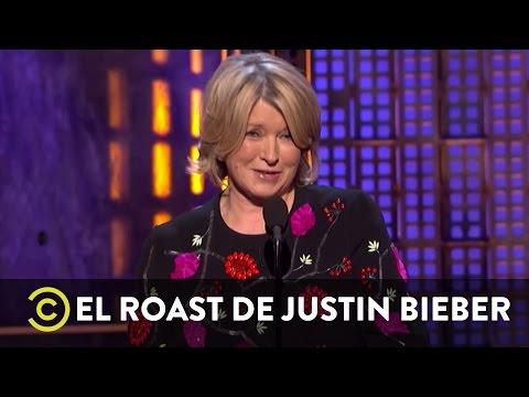 El Roast de Justin Bieber - Martha Stewart