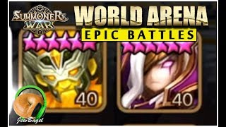 SUMMONERS WAR : Epic Battles of RTA!! (Skogul, Alicia, Herteit, Aquila and more)