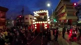 2018年 岐阜まつり・宵宮 道三まつりの様子です.