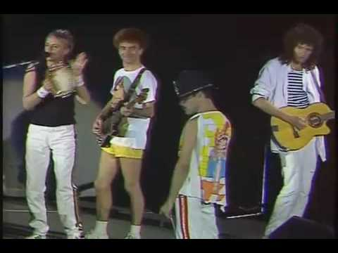 Queen Baby I Don't Care  Live At Wembley Stadium 1986