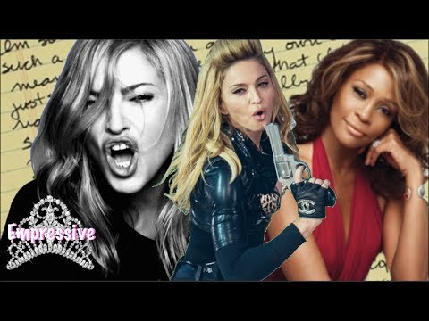 Download Youtube: Madonna disrespects Whitney Houston! (Old Letter Revealed)