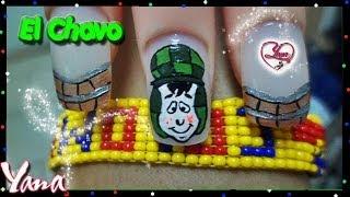 Chavo del Ocho Animado decorado de uñas - Yana - Nail Art
