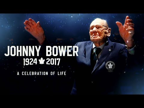 Celebration of life for Maple Leafs legend Johnny Bower