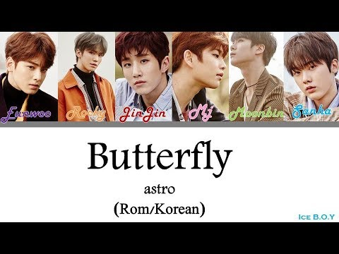 Astro - Butterfly LYRICS [Color Coded Han/Rom]