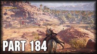 Assassin's Creed Origins - 100% Walkthrough Part 184 [PS4] – Side Quest: National Treasures