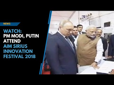 Watch: PM Modi, President Putin interact with talented students from India, Russia