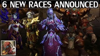 """The 6 New Races Coming to WoW - """"Allied Races"""" Overview"""