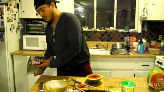 How To Make A Fruitbowl For Hookahs (watermelon) Sxp#6