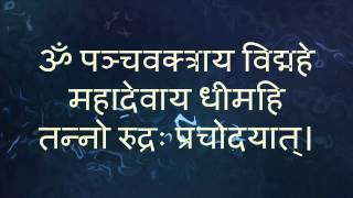 Shiva Gayatri Mantra (Tanno Rudrah Prachodayat) | with Sanskrit text