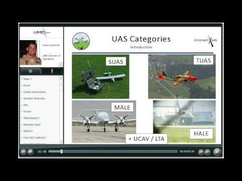 Unmanned Aircraft Systems - A Lecture on UAS Basics by Unmanned Experts