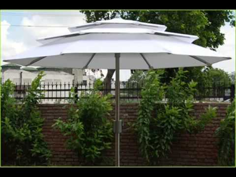 Ventrilla The 3 Tier Heavy Duty Garden Umbrella   YouTube