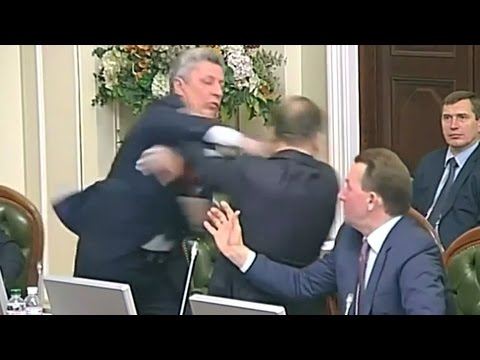 Thumbnail: Brawl in Ukrainian parliament