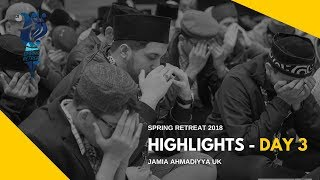 MKA NEWS - Jamia Spring Retreat 2018 - Day 3 Highlights