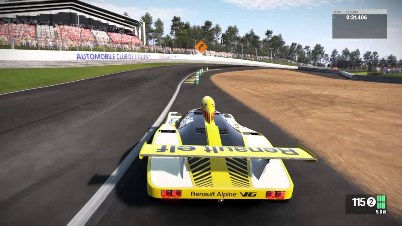 project cars ps4 renault alpine a442b gameplay 1978 le mans winner with didier pironi rip. Black Bedroom Furniture Sets. Home Design Ideas