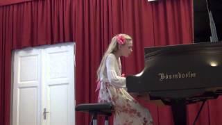 mozart sonata u b duru kv 333 epta osijek 2013 a category mia pečnik teacher ivanka kordić