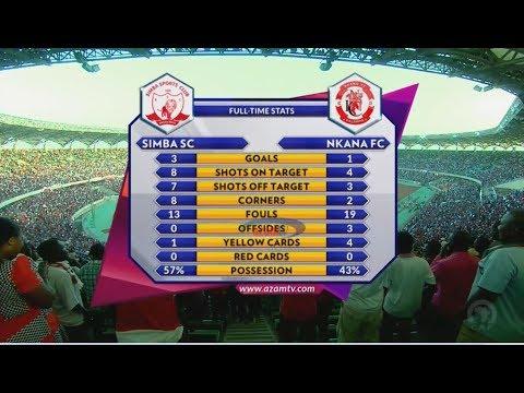 SIMBA SC 3-1 NKANA FC; FULL HIGHLIGHTS & INTERVIEWS (CAF CL - 23/12/2018)