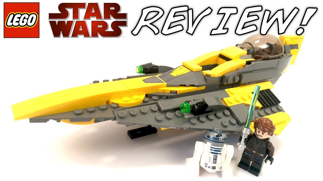 Lego Star Wars 75214 Anakins Jedi Starfighter Review 7669