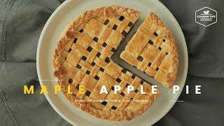 메이플 애플파이 만들기🍎 사과 타르트 : Maple apple pie Recipe - Cooking tree 쿠킹트리*Cooking ASMR