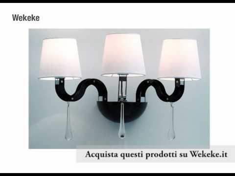 Applique lampade a muro moderne su wekeke youtube