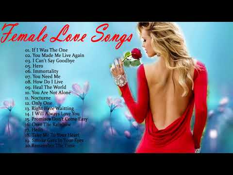 Best Female Love Songs Of 70s 80s 90s -  Greatest Romantic Love Songs oF All Time