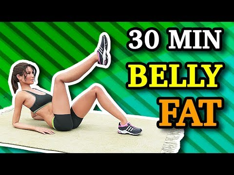 30 Minute Exercise Routine To Lose Belly Fat