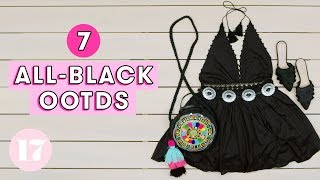 7 Badass All-Black Outfit Ideas | Style Lab