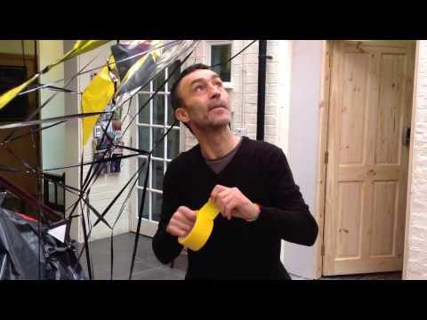 No Neat Edges: artist Chris Graham's Bank Street Arts Atrium Occupation
